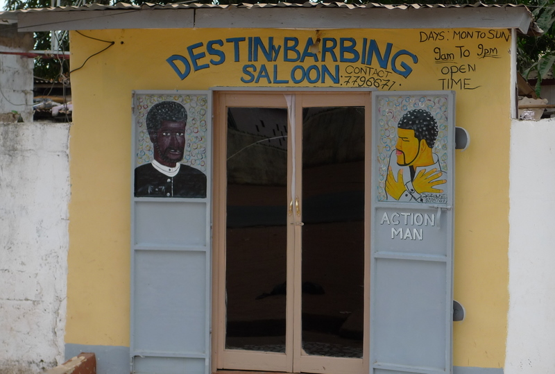 The local beauty salon