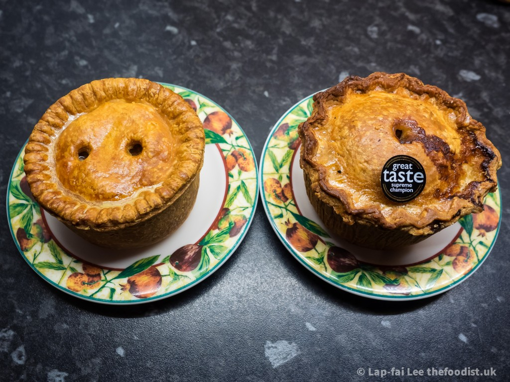 Don Guest and Walter Smith pork pies